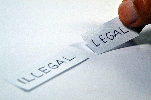 ベラジョンカジノプレイは違法か合法か?逮捕の危険性は0ではない