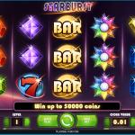 ベラジョンカジノのスターバーストは鬼人気スロット!負けたら無料でリベンジ?