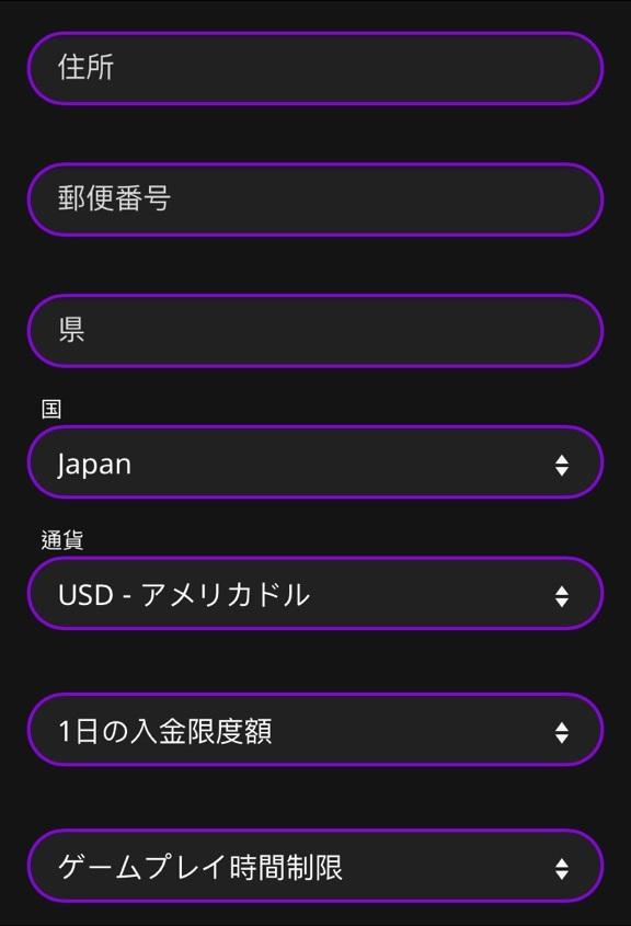 インターカジノ 登録6